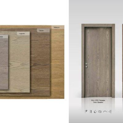 legno semilaccato frassino